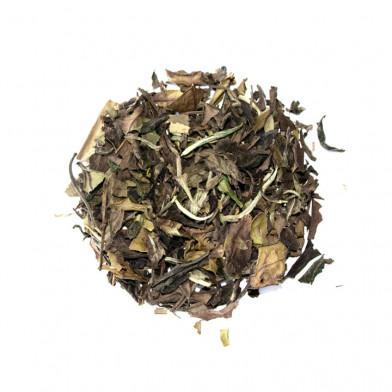 Té blanco Paimutan de hojas sueltas y cultivo bío. Fujian, China